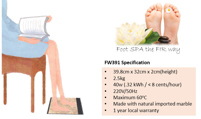 Far Infra FIR Foot Warmer