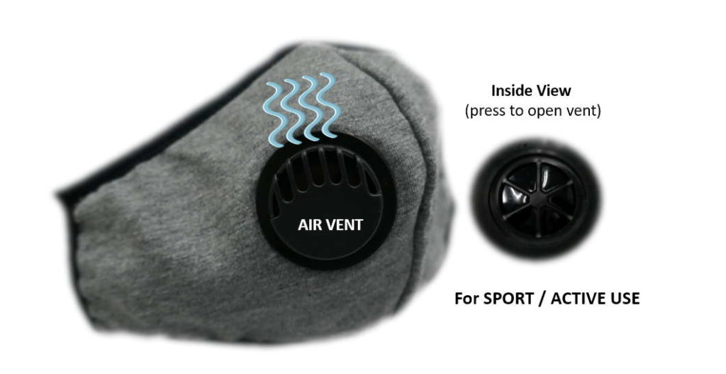 smask with air vent